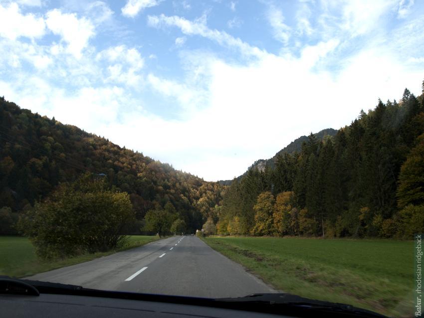 По дороге из Польши в Словакию
