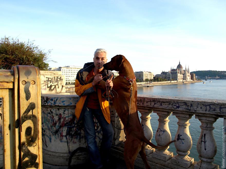 Бабур с Димой в Будапеште